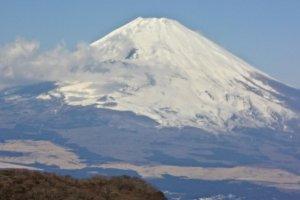 富士の勇姿