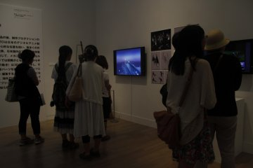 <p>One of the many videos displaying visuals about the genres.&nbsp;</p>