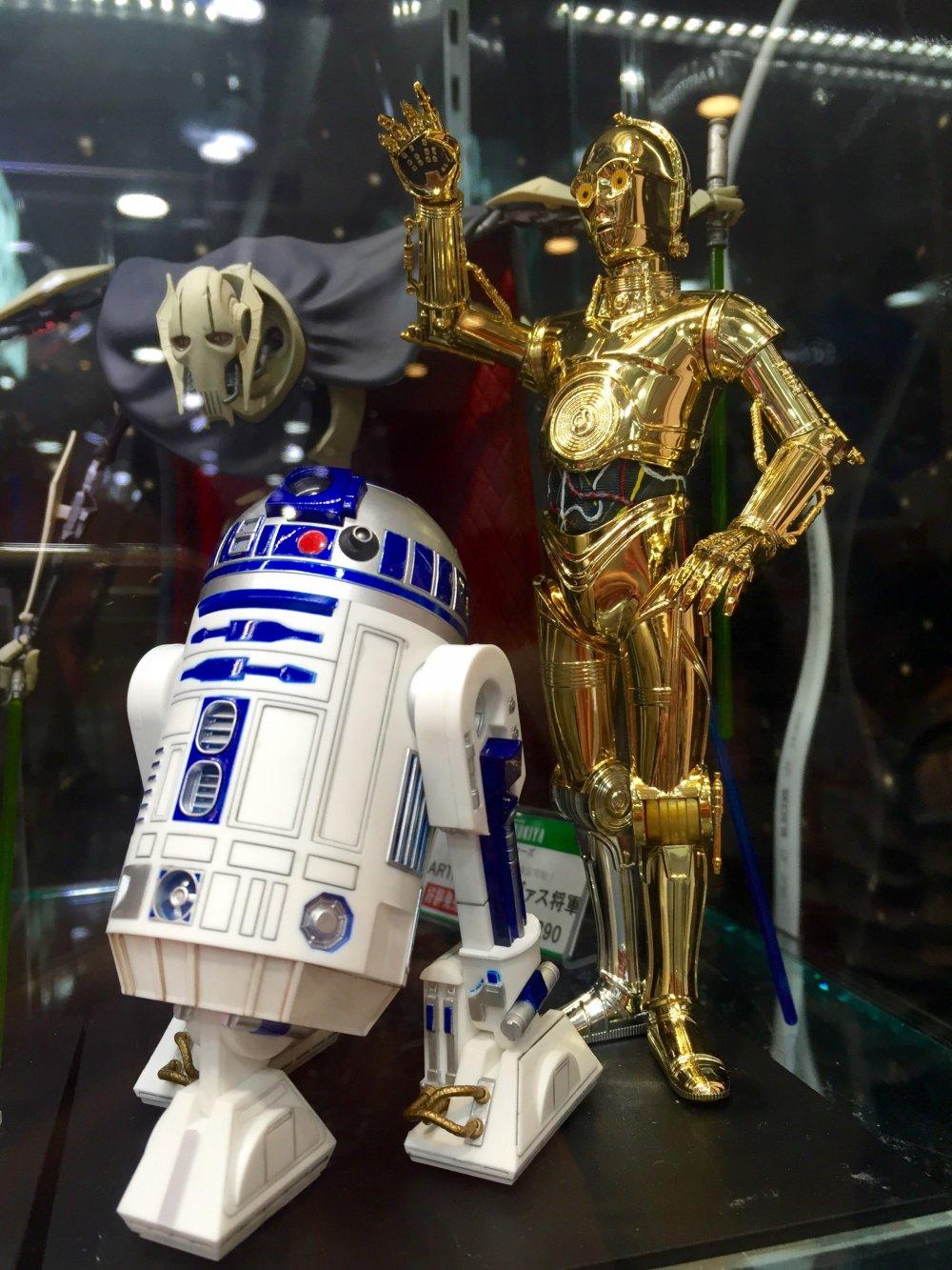 Мои любимые C3PO и R2-D2