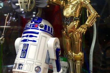 Персонажи Star Wars в Kiddyland