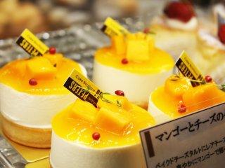 Mango puddings