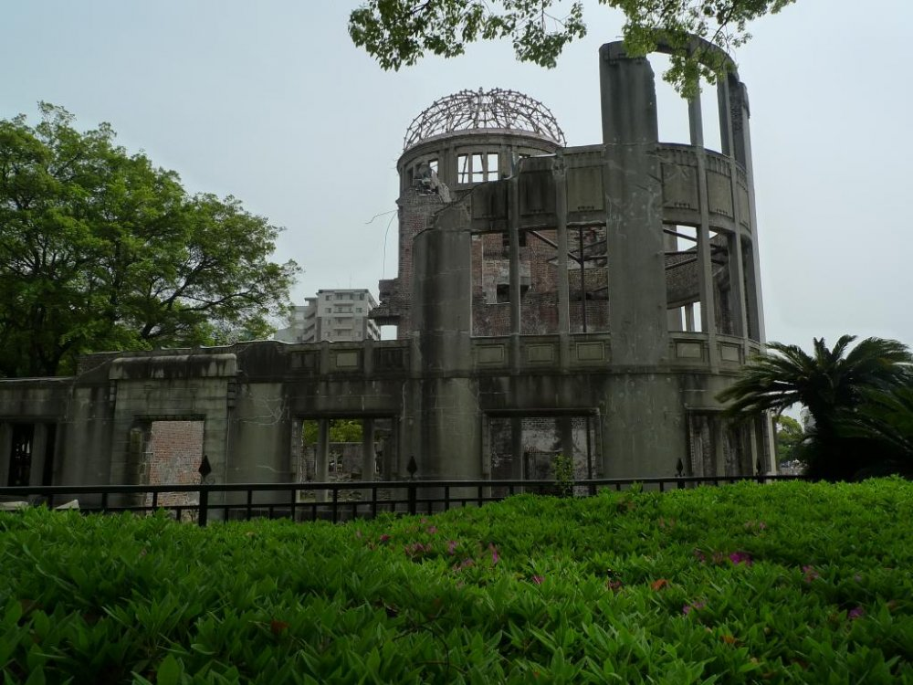 Another view of the Atomic Bomb Dome