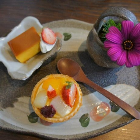 Kabochaan Cafe in Mashiko,Tochigi