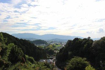 <p>Asuka Village from the 3-storey pagoda</p>