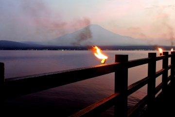 Firework Festival at Lake Yamanaka