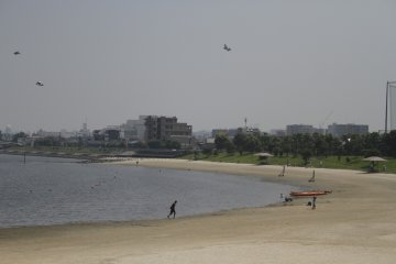 <p>The beach located at the southern part of the park.</p>