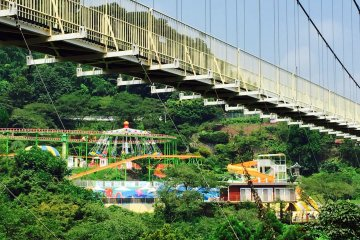<p>Take this massive bridge that will give you spectacular views of the surrounding area as well as Beppu City.</p>