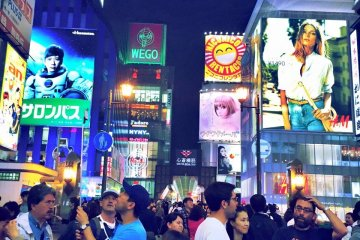 <p>This is Osaka past 3am. This city really doesn&#39;t sleep. Make sure to take a step back after your long night out and soak in all the billboard lights. It makes you realize how small your worries really are.&nbsp;</p>
