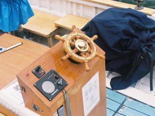 오타루 운하 배