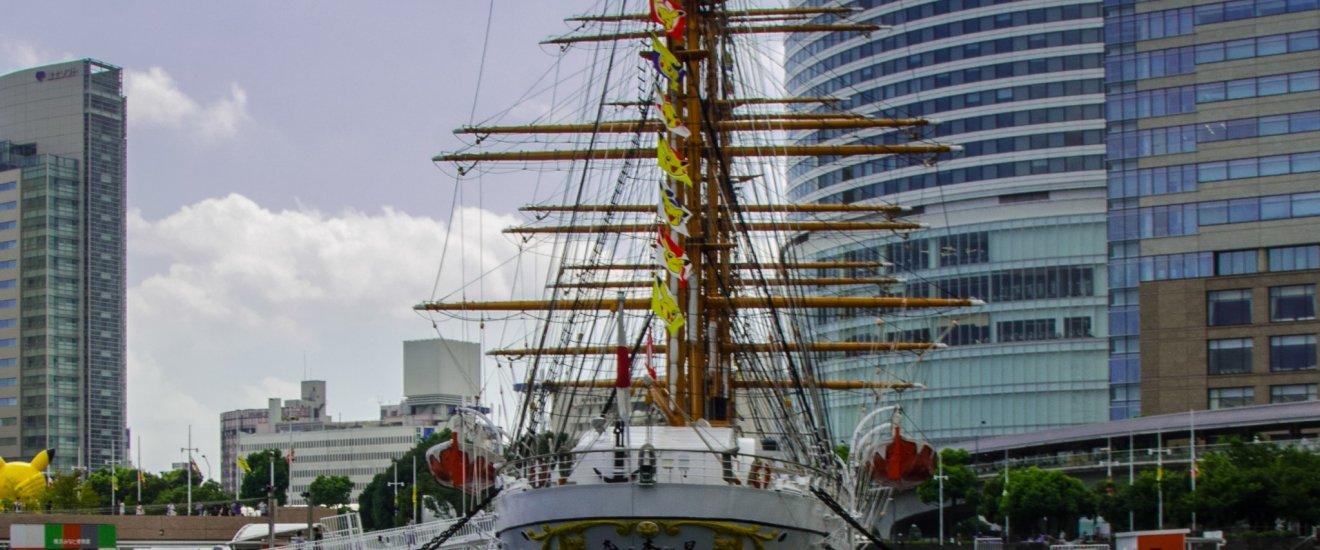 Nippon Maru yang pensiun sejak 1984
