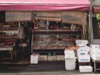 ร้านขายเนื้ในยะนะกะ