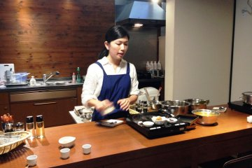 Finding a Cooking Class in Kyoto