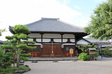 <p>Asuka Temple&#39;s Buddha Hall</p>