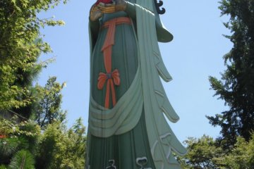 Image of the Great Salvation Kannon Goddess
