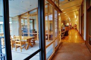 L'auberge propose des salles de réunion pour les groupes