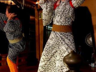 Традиционный танец с маской