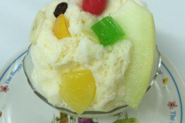 Мороженое какигори жарким летом