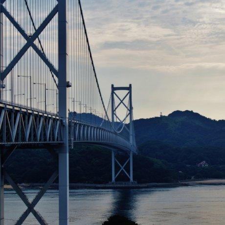 Le Pont de Kurushima Kaikyô à Vélo