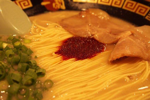 Ichiran's delicious tonkotsu ramen.