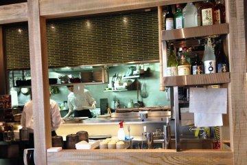 <p>The Morinoya kitchen</p>