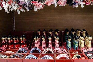 <p>Colorful souvenirs</p>