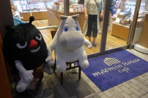You will be greeted at the door by a colourful cast of Moomin characters