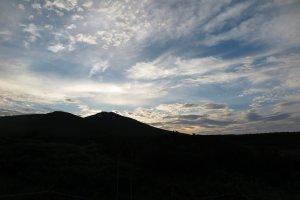 fin du jour au lac Futatsuike