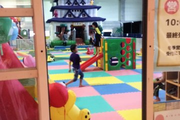 <p>The kid&#39;s play area.</p>