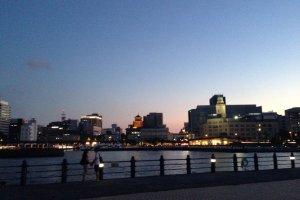 요코하마와 야경