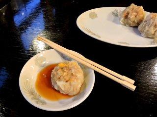 The pork dumplings were fantastic