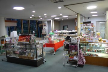 <p>Take some time to explore the gift shop. It may seem quite small but it sells a lot of different things.&nbsp;</p>