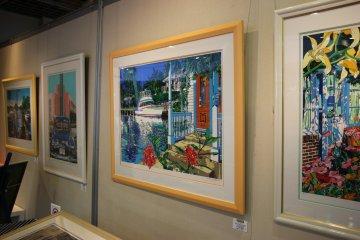 <p>Картинная галерея</p>