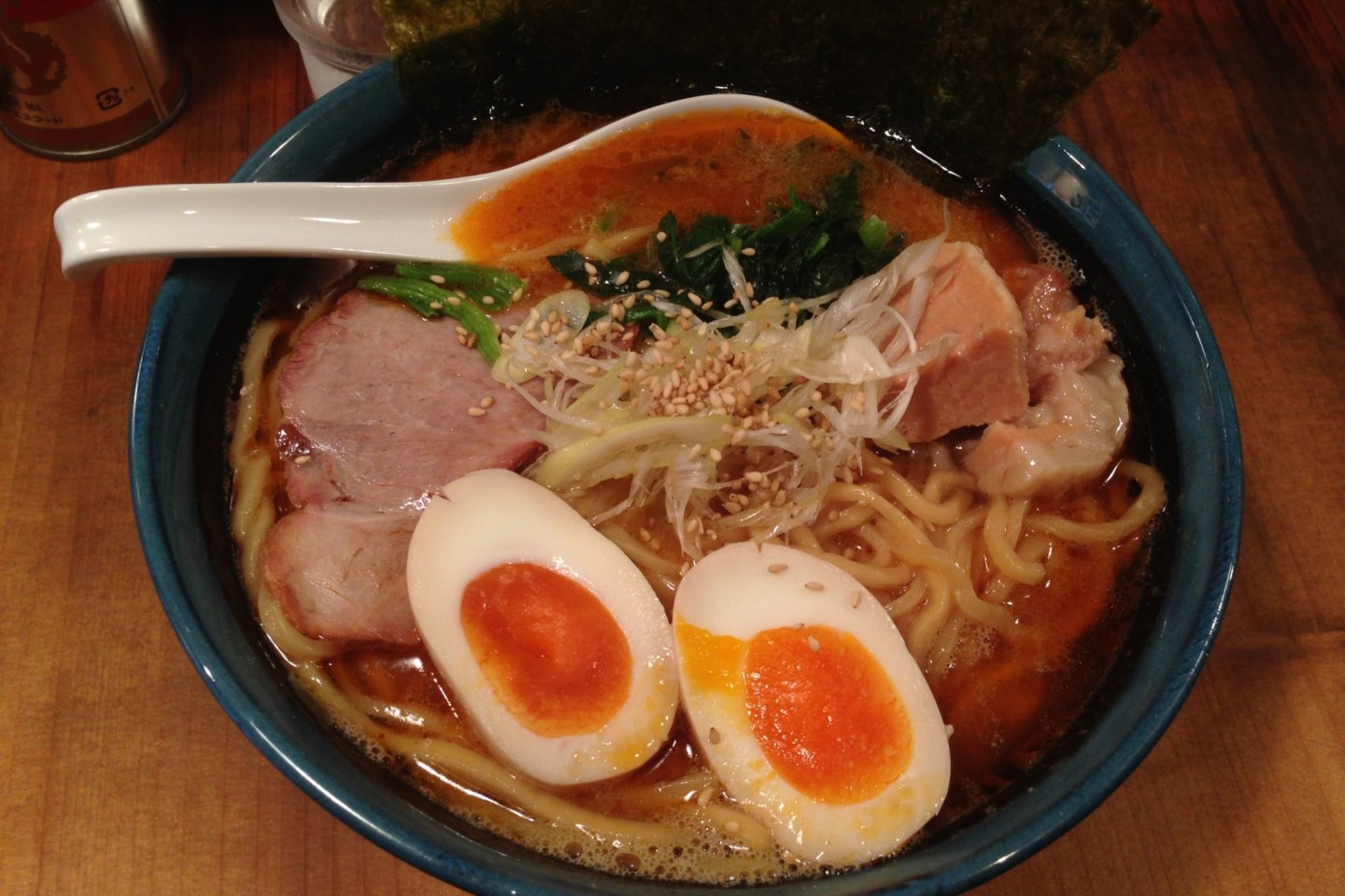 Or a really good spicy miso ramen at good prices.