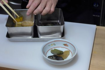 <p>Presentation is important for even the smallest dishes.&nbsp;</p>