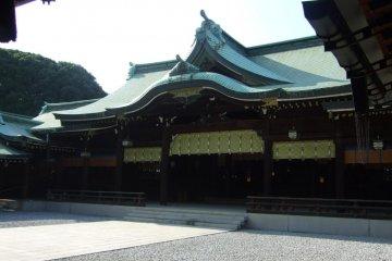 明治神宮庭內的建築
