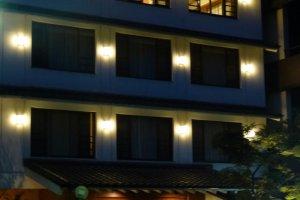 The inn at night
