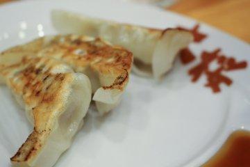 <p>Gyoza dumplings</p>