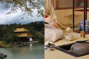 Kinkakuji & Tea Ceremony Koto