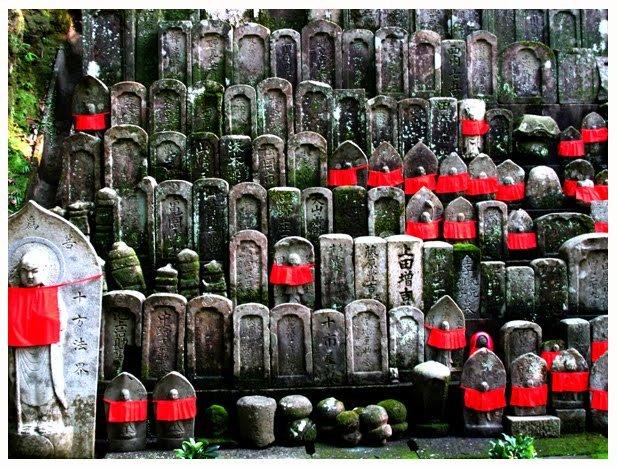 Chikurinji statues