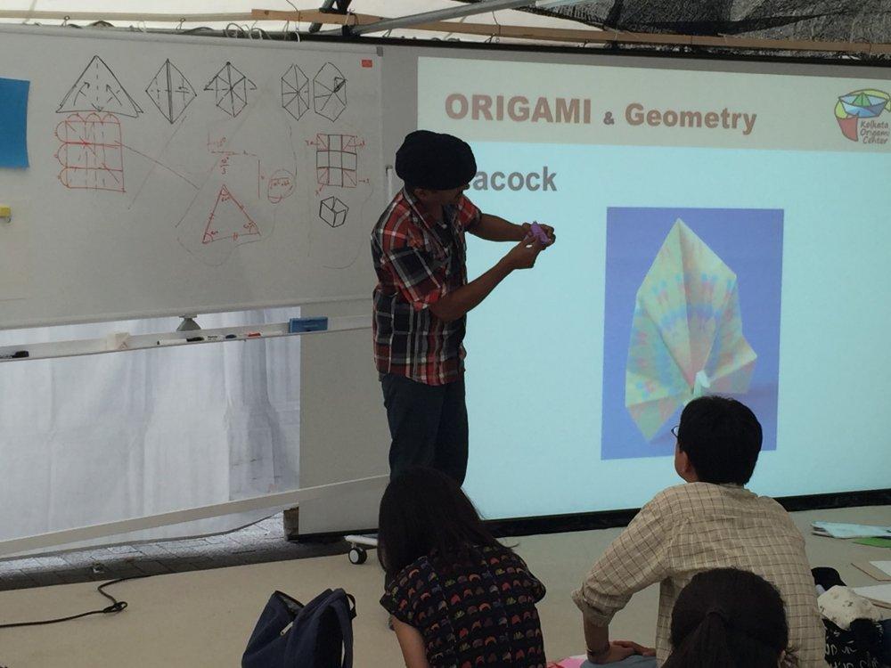 Мастер-класс по индийскому оригами