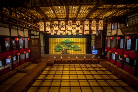 Nhà hát lớn Konpira ở Kotohira