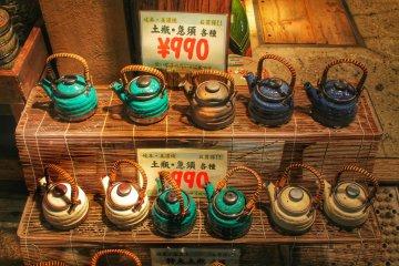 <p>Teapots for less than&nbsp;&yen;1000!</p>
