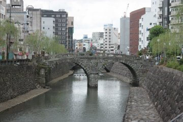 Spectacles Bridge, Nagasaki City.
