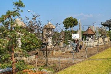 <p>The area around Daijo-ji is really quiet</p>