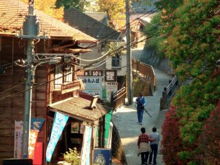 In addition to lodging, the village contains nine family-run restaurants and some souvenir shops.