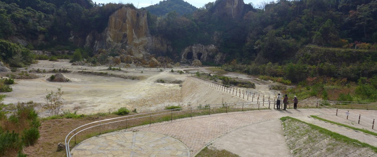 Izumiyama Quarry, a National Cultural Heritage site in Arita