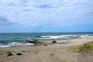 Ikarashi Cospo Beach from the dunes