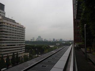 Вид на мегаполис