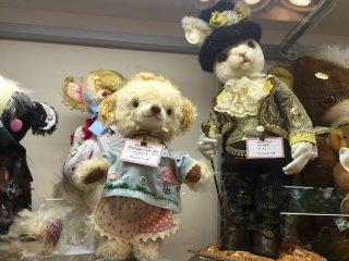 Раритетные мишка и зайчик на продажу