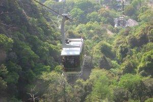 The ropeway up Mt Kinka to Gifu Castle